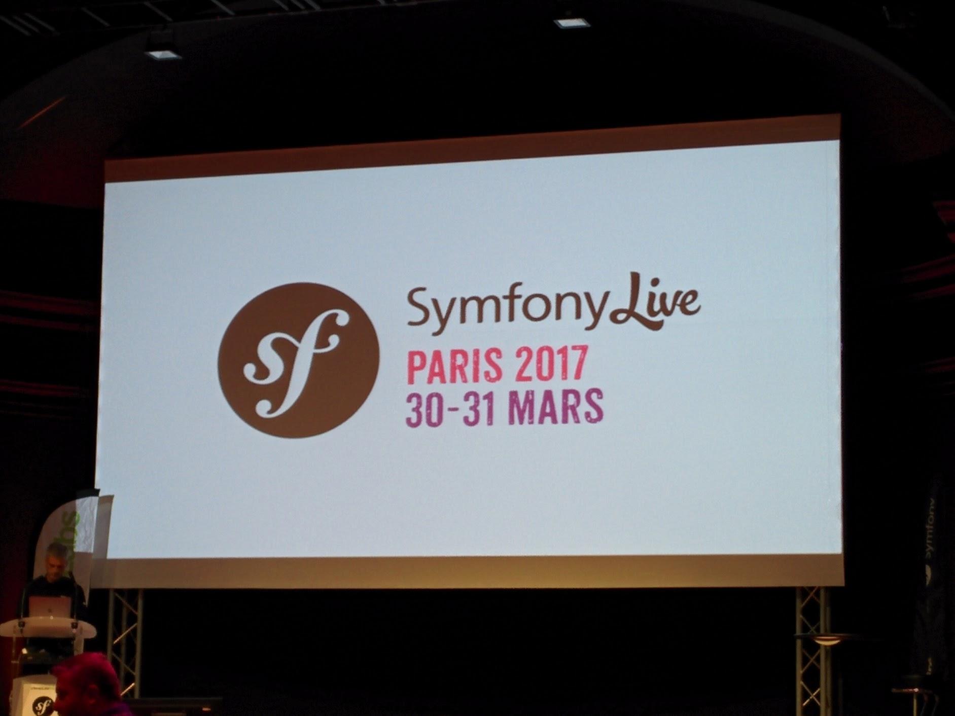 Symfony Live Paris 2017